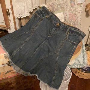 Old Navy Special Edition denim skirt